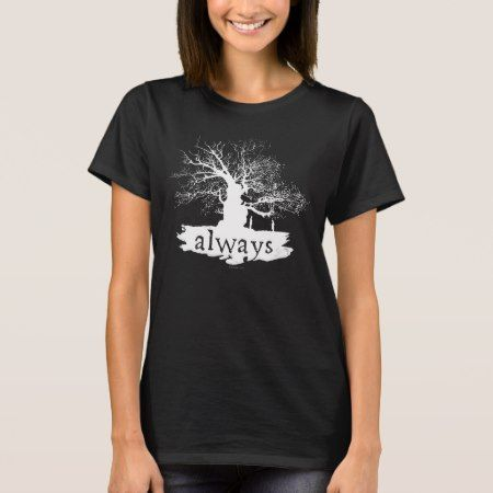 Harry Potter Spell | Always Quote Silhouette T-Shirt - click/tap to personalize and buy