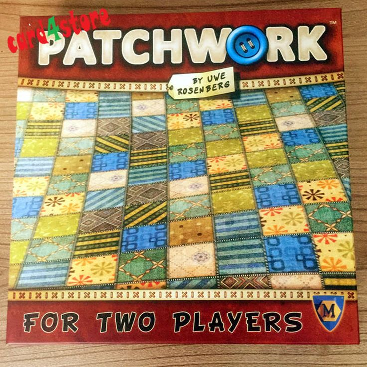 Patchwork Board Game For Two Players Funny Party Games Chinese/English Version | eBay
