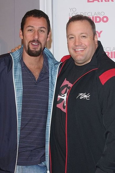 Adam Sandler and Kevin James-my favorite actors in the whole world!