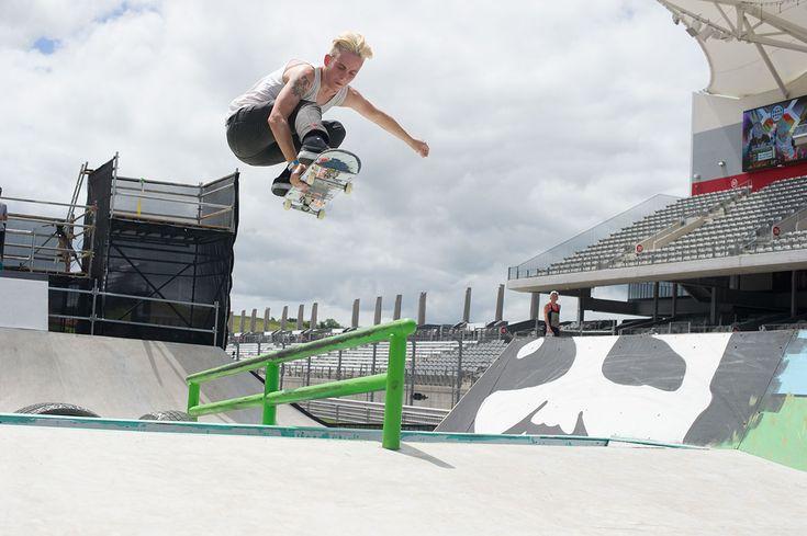 Lacey Baker, street skateboarder.
