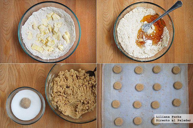 Galletas de jengibre y miel. Pasos de la receta