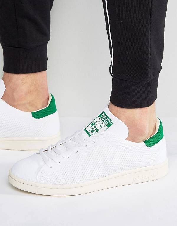 480e47c938b3 adidas Originals Stan Smith OG Primeknit Sneakers In White S75146 ...