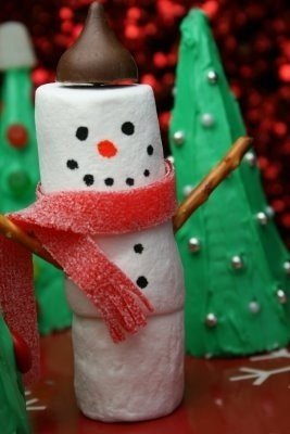 Going to have the kids make these as the craft for David's school Christmas party.
