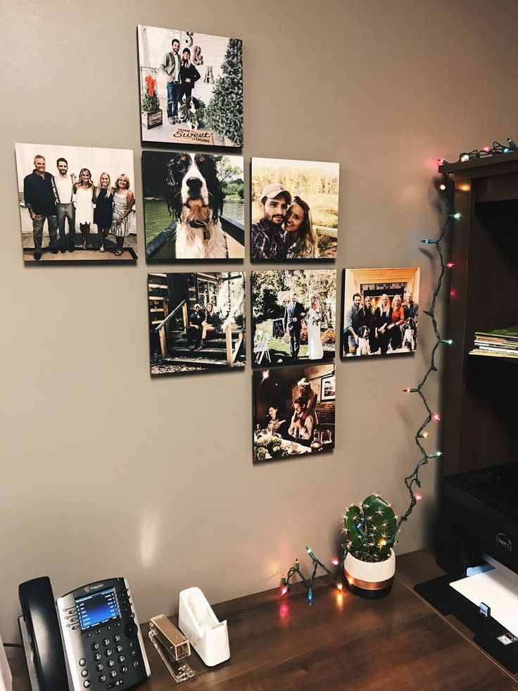 Wall decor that works great in the office, bedroom, family room, dorm room and more! Check out the app to print yours today.