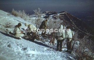 operazione the riva ridge 1945 color foto