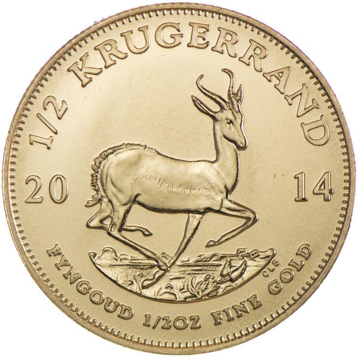 Krugerrand 1/2 Unze Gold 2014, 9167/1000