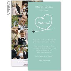remerciements mariage thème voyage à personnaliser #remerciements #mariage