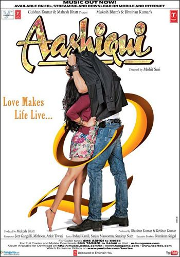 Aashiqui 2 poster, who is the girl under the jacket?