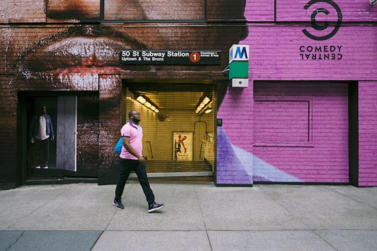 Massimo Giachetti Blends Dramatic Graffiti Into Street Photography