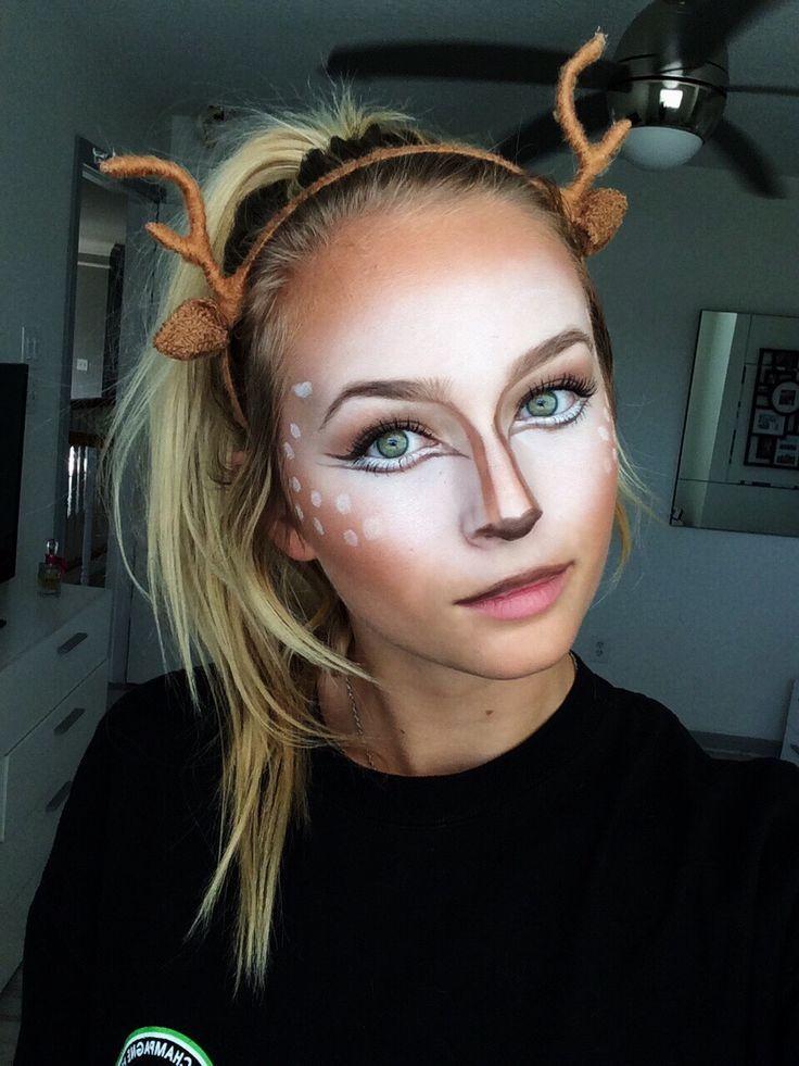 25 best ideas about deer makeup on pinterest deer costume makeup bambi costume and deer. Black Bedroom Furniture Sets. Home Design Ideas