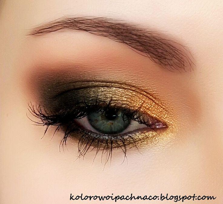 November Makeup Tutorial - Makeup Geek: Magic Act, Desert Sands, Creme brûlée, and Corrupt