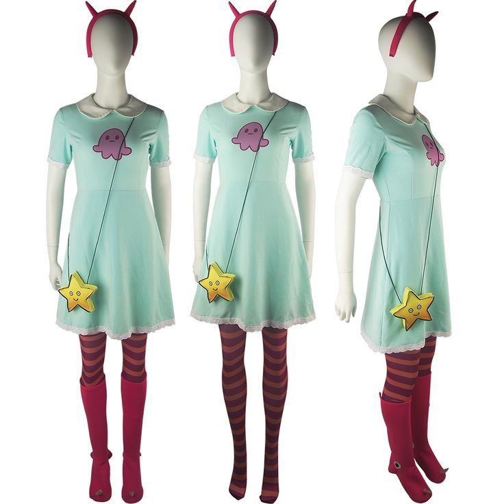 Oasis Costume - Star vs. the Forces of Evil Princess Star Butterfly Dress Women Halloween Cosplay Costume , $99.00 (http://www.oscostume.com/star-vs-the-forces-of-evil-princess-star-butterfly-dress-women-halloween-cosplay-costume/)