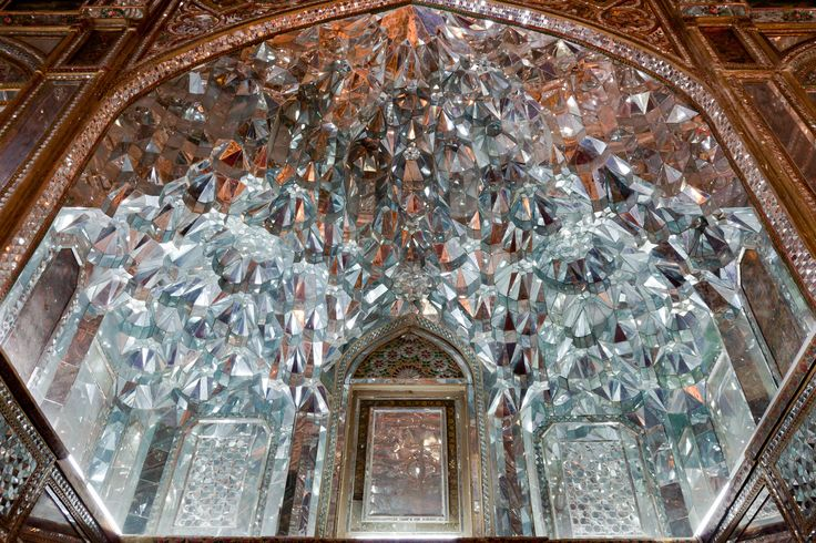 The Mirror Room In Golestan Palace Iran Heart