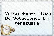 http://tecnoautos.com/wp-content/uploads/imagenes/tendencias/thumbs/vence-nuevo-plazo-de-votaciones-en-venezuela.jpg Elecciones Venezuela. Vence nuevo plazo de votaciones en Venezuela, Enlaces, Imágenes, Videos y Tweets - http://tecnoautos.com/actualidad/elecciones-venezuela-vence-nuevo-plazo-de-votaciones-en-venezuela/