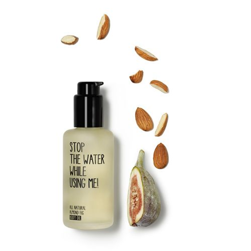 All Natural Almond Fig Body Oil