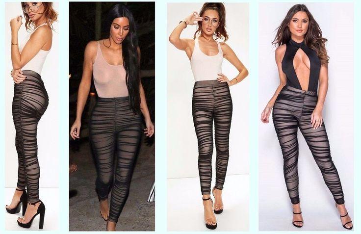 #Womems #Kim #Leggings #Pleated #HighWaist #Ruched #Mesh #Nude #Trousers #Leggings #Sexy #KIMK #KIMKARDASHIAN  www.FlirtyWardrobe.com #flirt #flirty #flirtywardrobe #wardrobe #fashion #celebrityfashion #celebfashion #celebfashionwebsite #fashionwebsite #lol #tagsforlife