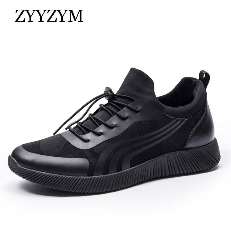 Men Casual Shoes Spring Summer Fashion Trend Breathable Outdoor Slip-on Solid Colors Flat Shoe #Affiliate