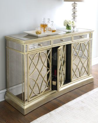 Shop Amelie Three Door Mirrored Console At Horchow Where Youll Find New Lower Shipping On Hundreds Of Home Furnishings And Gifts