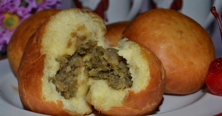 Diah Didi's Kitchen: Roti goreng isi kacang hijau