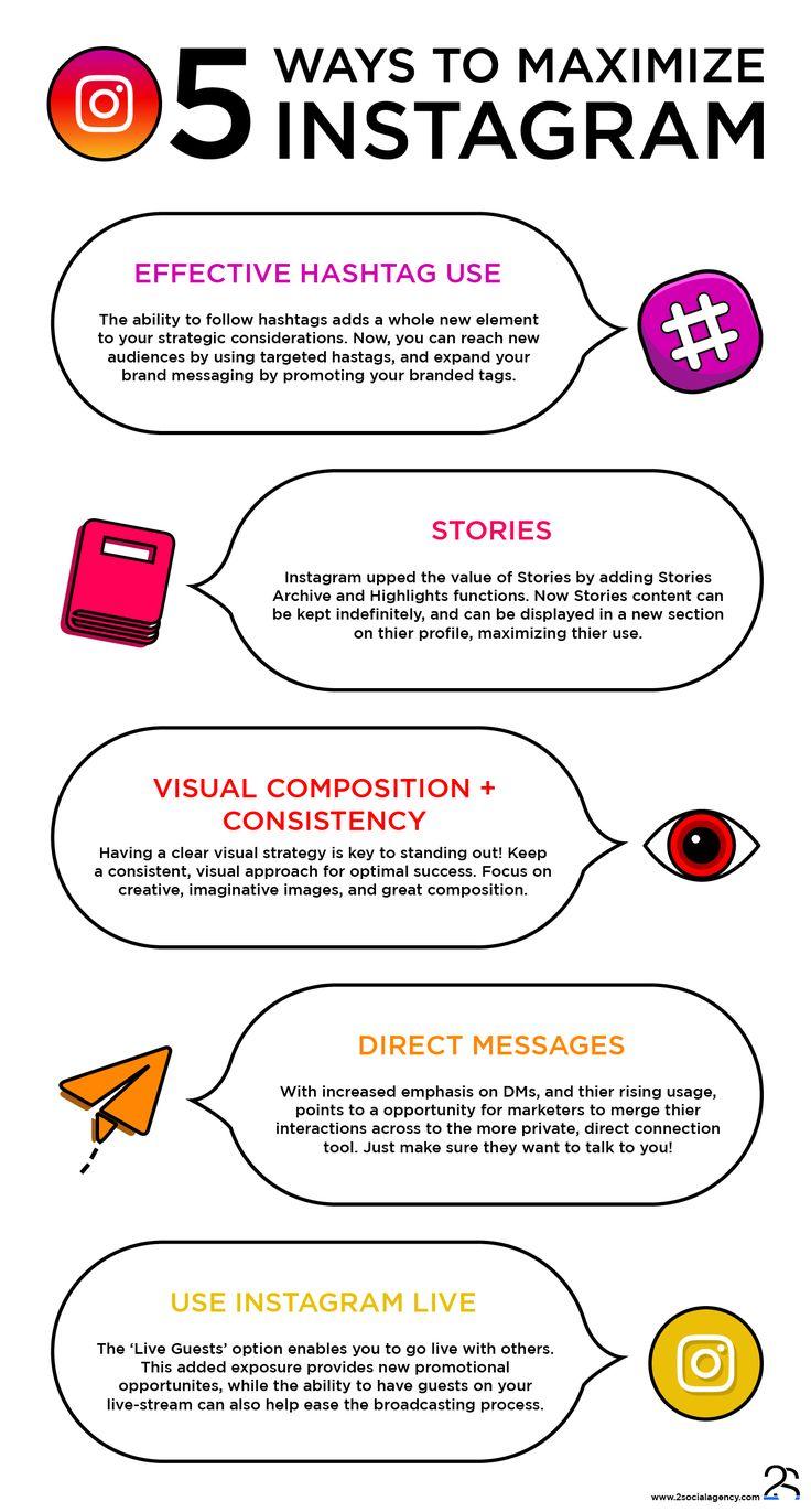 #Instagram #Infographic #SocialMedia #Design #GraphicDesign #2SocialAgency #2S
