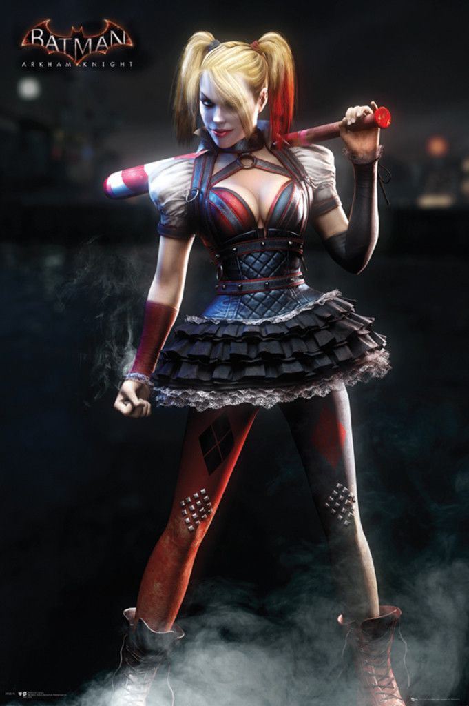 Batman Arkham Knight Harley Quinn - Official Poster