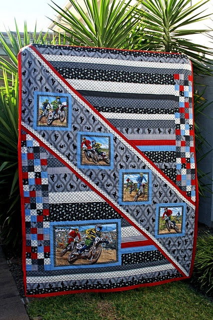 Could use this for a horsie quilt for granddaughter.