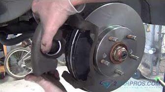 honda element brake repair - YouTube