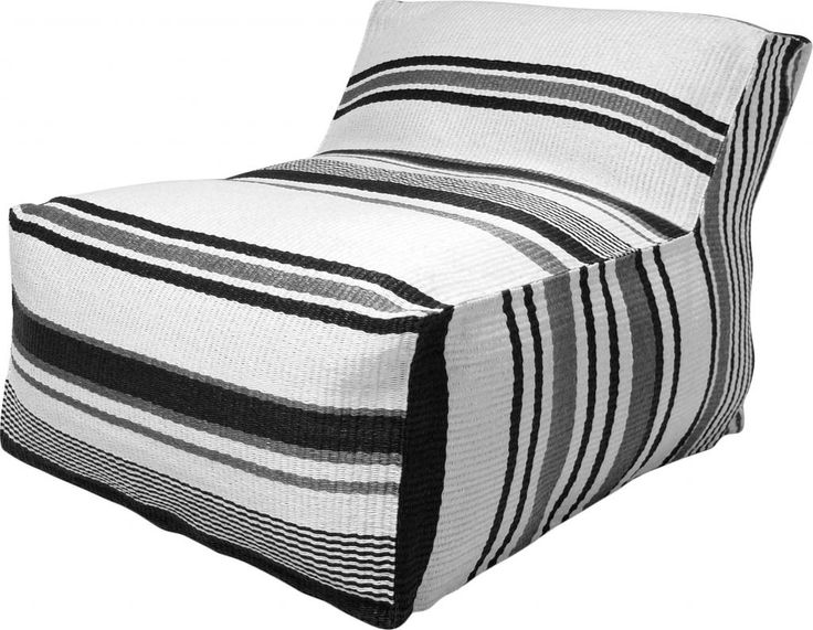 stoel lagune loungestoel zwart wit hk living