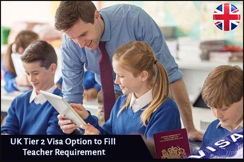 UK Tier 2 Visa Option to Fill Teacher Requirement