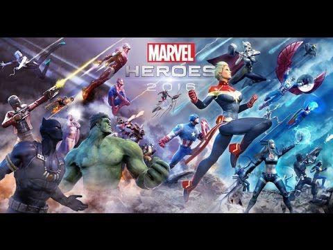 Marvel Heroes 2016 MMO - Gameplay - Review in HD (Best Heroes)
