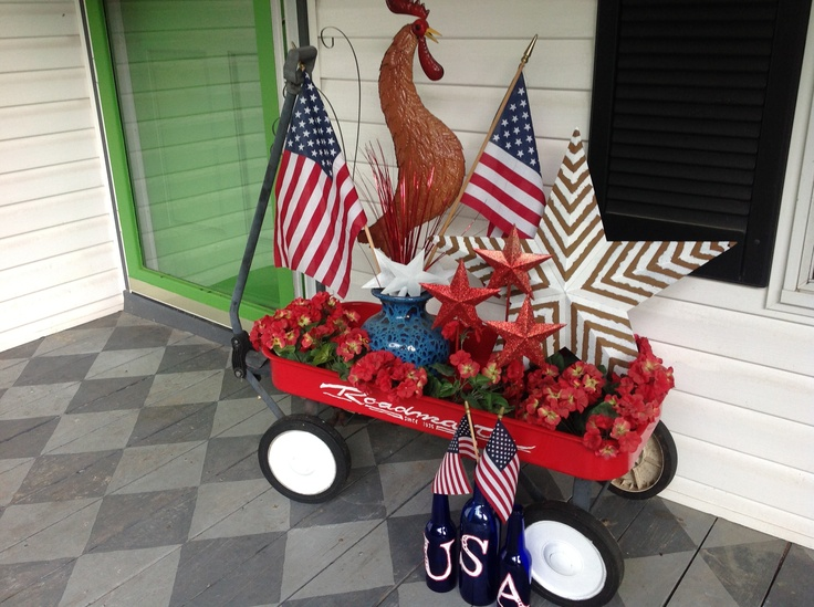 211 Best Patriotic Front Porches Images On Pinterest