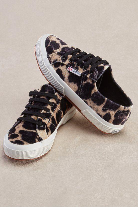 Leopard sneakers, Velvet sneakers