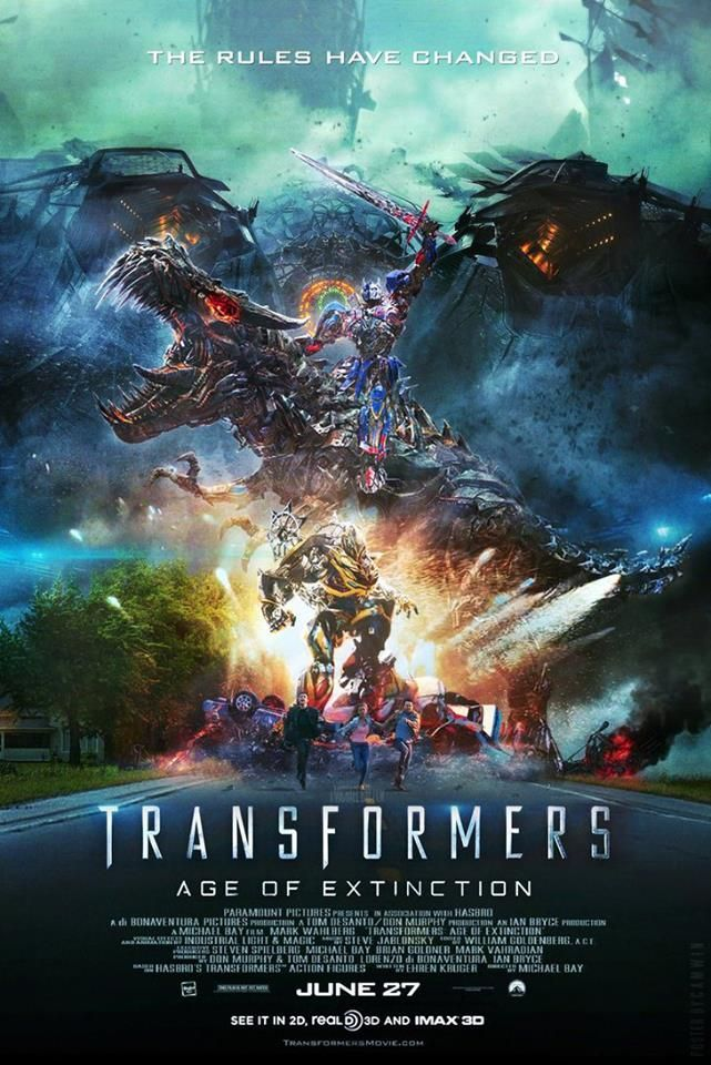 Transformers Age of Extinction Movie Poster