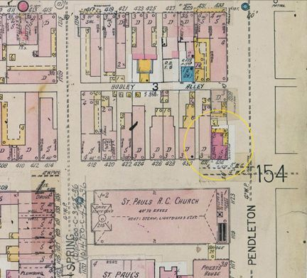 How to find your ancestor's residence in Sanborn Fire Insurance maps.