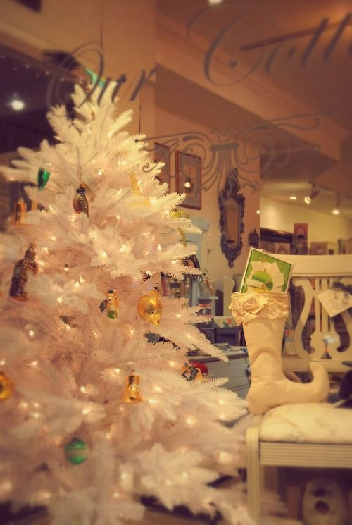 Come see our Christmas items -- gift ideas and decorations and more -- in the shop now!