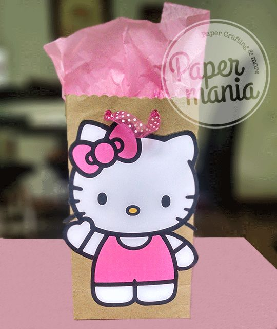 Bolsa De Ombro Hello Kitty : Images about papermania on