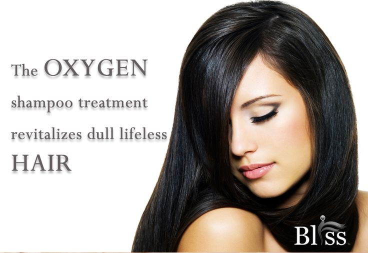 The oxygen  shampoo treatment  revitalizes dull lifeless  hair www.blisso2bar.com