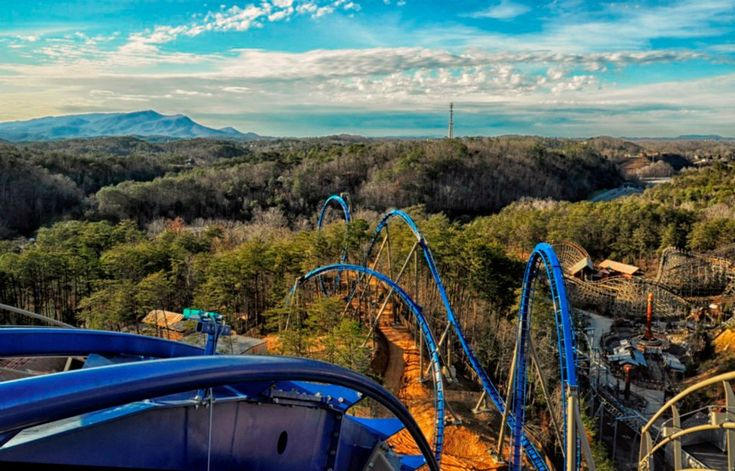 Wild Eagle Lift Hill - Dollywood. Probably the best rollercoaster I've been on to date. Fast, smooth, feeling of flying! With Shaune 6/2013