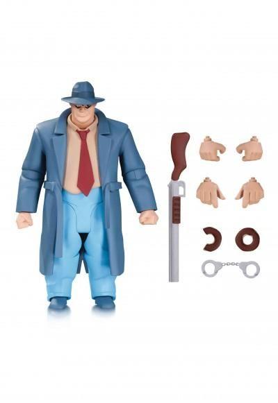 New Batman Adventures Harvey Bullock Action Figure