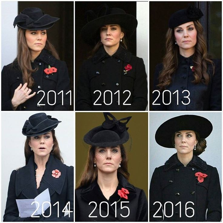The Duchess of Cambridge's remembrance Sunday outfits over the past 6 years, Which is your favourite look? You can only pick one though My favourite is 2011❤ #KateMiddleton #TheDuchessOfCambridge