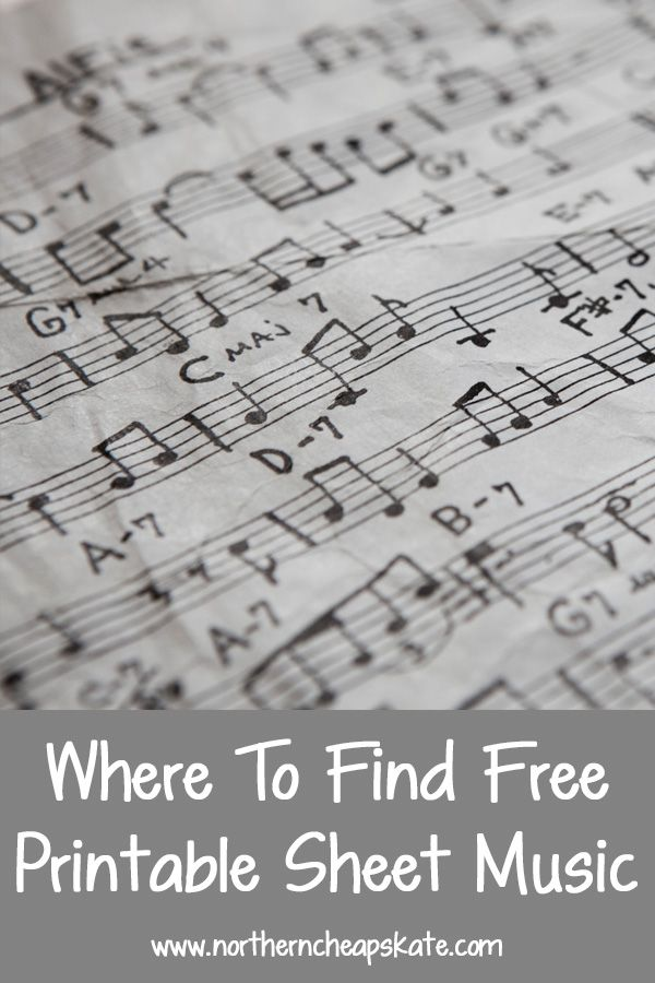 If you love music, you know sheet music can be expensive. Learn where to find free printable sheet music to learn and play.