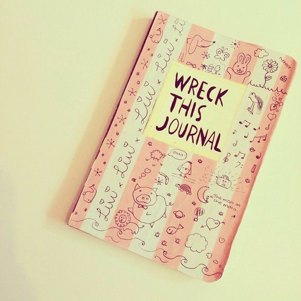 Wreck This Journal Book Cover Ideas : Best wreck this journal cover ideas on pinterest