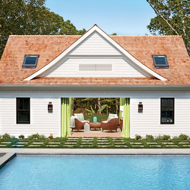 pool house 2016 coastal living magazine hamptons showhouse