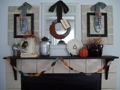 fall mentel inspiration