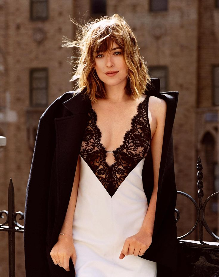 Dakota Johnson by Alasdair McLellan for Vogue UK February 2016