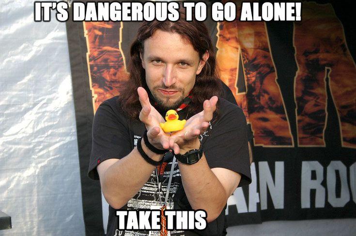 Its dangerous to go alone.jpg (950×631) Tony Kakko!