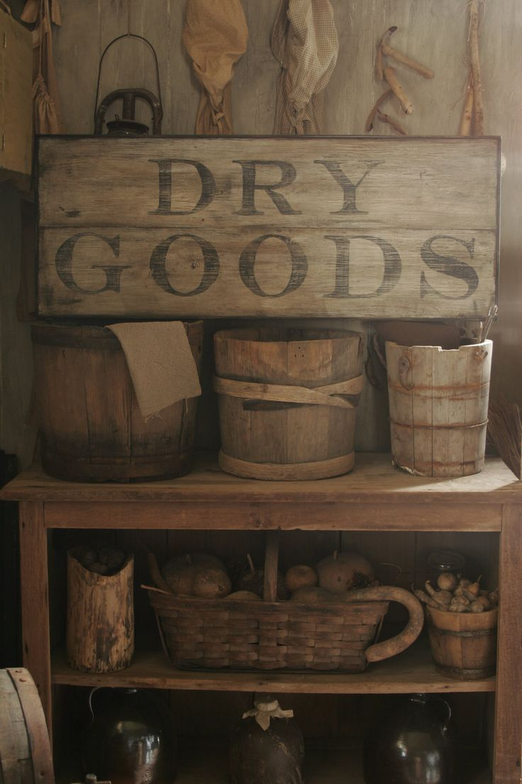 Primitive fall wood crafts - 36 Stylish Primitive Home Decorating Ideas