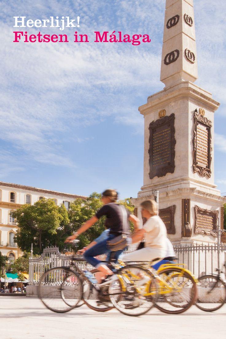 Fietsen in Malaga, een leuke manier om kennis te maken met Málaga. Op de fiets kom je langs  de mooiste bezienswaardigheden van Málaga. Een fietstocht die ervoor zorgt dat je niks hoeft te missen van deze bruisende stad.  Samen met een Nederlandstalige gids ontdek je de leukste punten van Málaga. Ideaal om je citytrip Málaga mee te beginnen.  Tip: Na de fietstour kun je extra voordelig een fiets huren. Er ligt een leuke fietsroute langs de stranden van Málaga.
