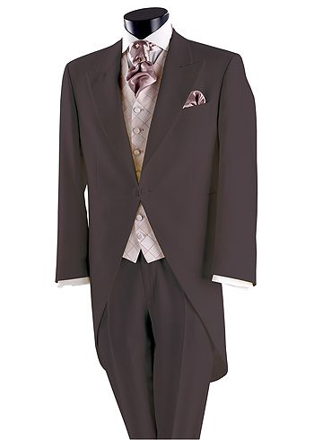 It's a surprise but I think the suits will be like this but with orange cravats :o)