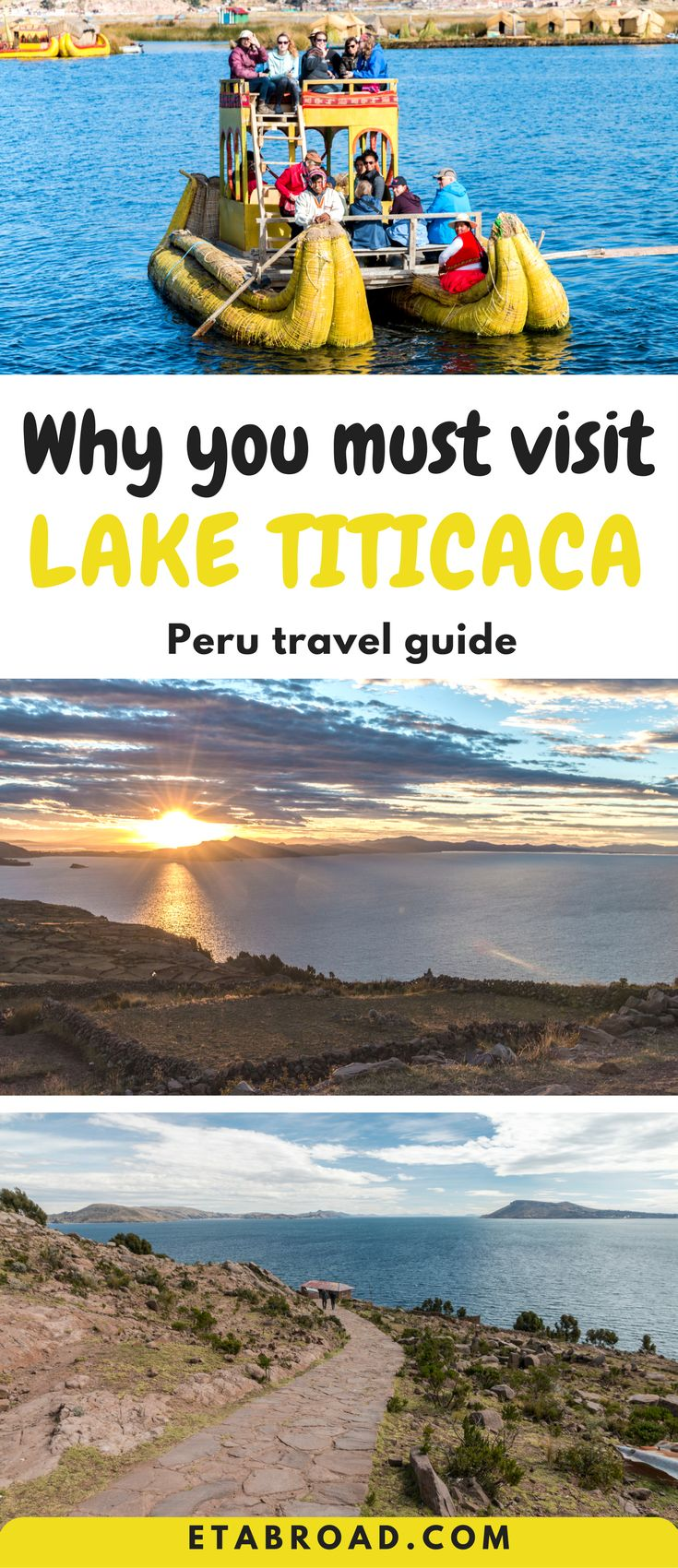 A trip from Puno to Lake Titicaca to floating islands and homestay is great. Everyone should do it. It's how traveler really touches the culture of Incas in Peru.